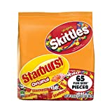 SKITTLES & STARBURST Halloween Candy Fun Size Variety Mix 31.9-Ounce Bag 65 Pieces