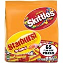 65-Pieces Skittles & Starburst Fun Size Variety Mix 31.9-Ounce Bag