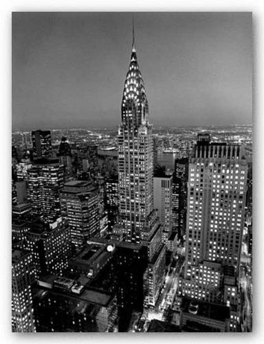 Chrysler Henri Building Silberman - Chrysler Building by Henri Silberman 19.75