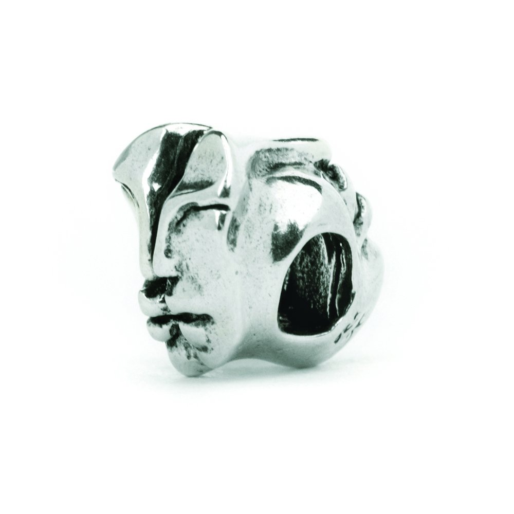Novobeads Authentic Sterling Silver 1506 Two Souls One Spirit Silver