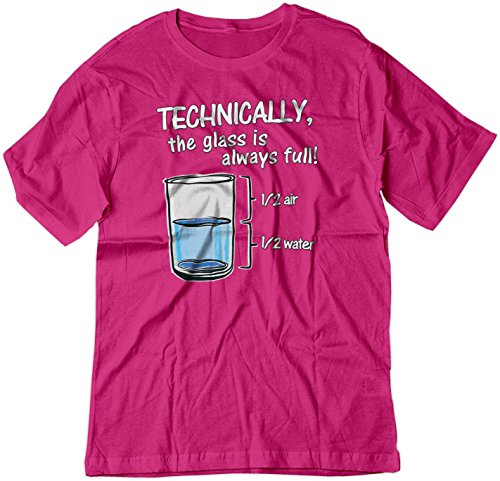 BSW Youth Technically The Glass is Always Full Shirt LRG Raspberry ()