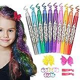Best Hair Chalks - Hair Chalk for Girls, ETEREAUTY Temporary Hair Chalk Review