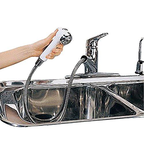 - Kitchen Faucet Chrome Widespread Sprayer Single Hole 1 Handle|Renovator's Supply