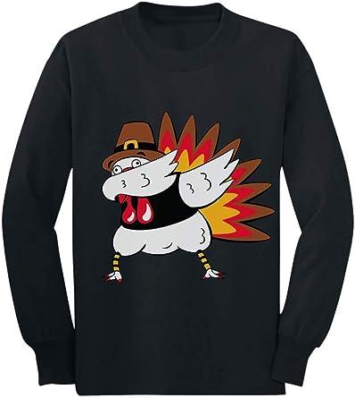 Thanksgiving Turkey Gobble FLOSS  Dance Women Sweatshirt