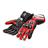 Ducati Corse C3 Gloves - Red - Size Large