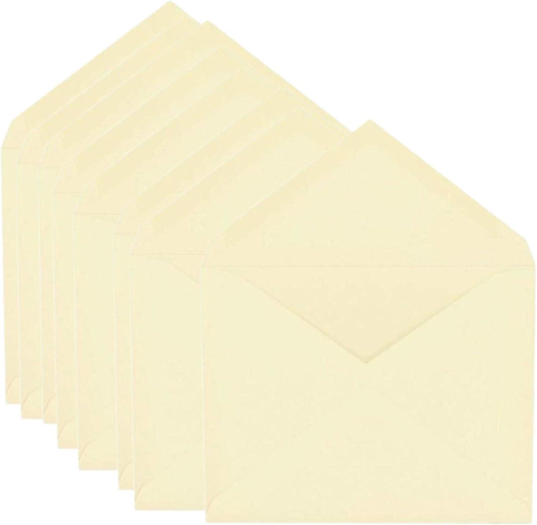 "1InTheOffice A2 a2 Envelopes Ivory, Gummed Ivory Invitation Envelopes, 4 3/8"" x 5 3/4"", 100/Box"