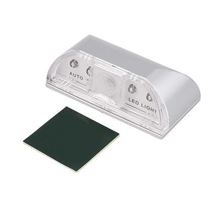 Auto PIR Sensor de luz LED, Auto PIR puerta ojo de la cerradura Detector de