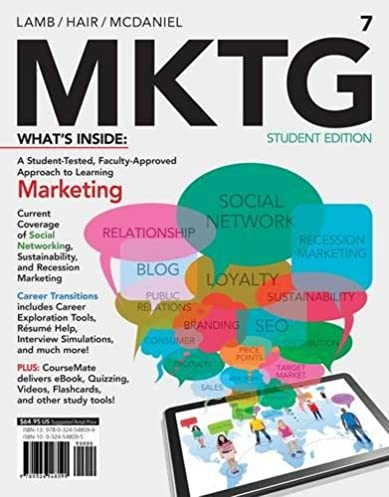 amazon com mktg 7 with coursemate with career transitions printed rh amazon com MKTG Office MKTG Office