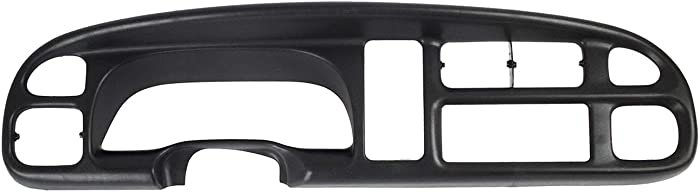 KARPAL Dashboard Dash Cluster Bezel Compatible With 1998-2001 Dodge Ram Pick Up Replacement Cover