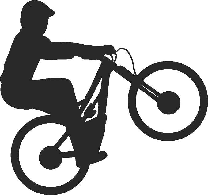 1x Cat Black Vinyl Stickers Decals Graphics Bike Window Halloween Car Van Black
