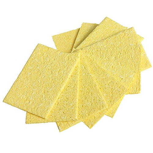 [해외]BleuMoo 50Pcs 납땜 인두 청소 패드 스폰지 부엌 청소 도구/BleuMoo 50Pcs Soldering Iron Cleaning Pads Sponge kitchen cleaning Tool