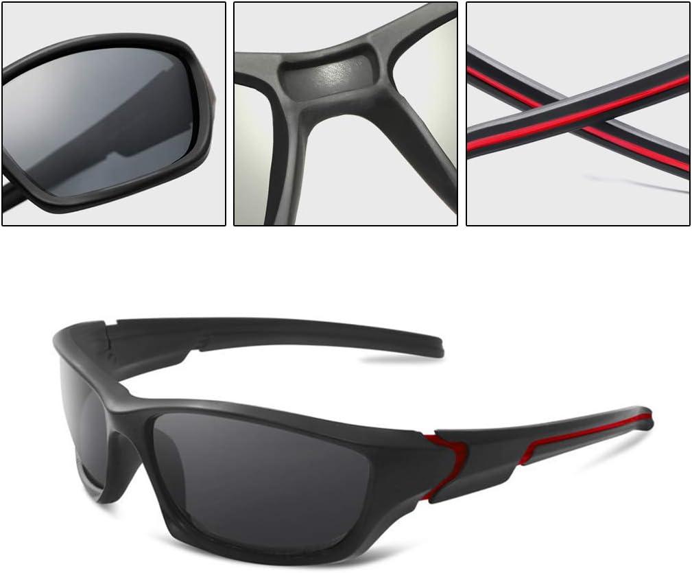 Pesca Gafas de Deporte Unisex Camping only y esqu/í Gafas de conducci/ón Anti UV400 para Ciclismo conducci/ón Gafas de Sol polarizadas Bicicleta