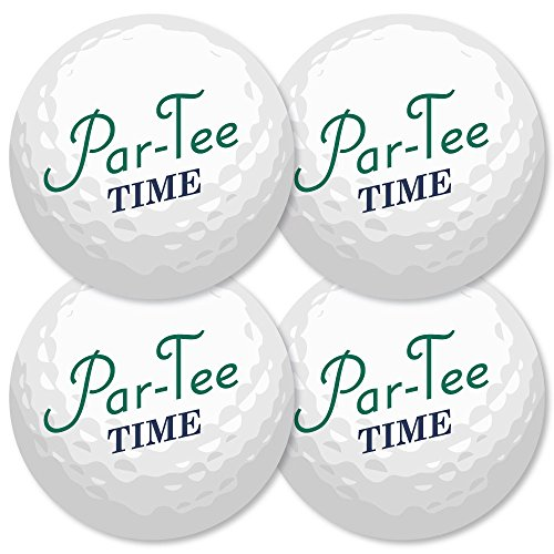 (Par-Tee Time - Golf - Ball Decorations DIY Birthday or Retirement Party Essentials - Set of)