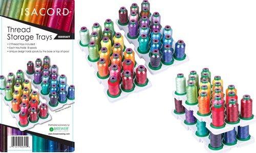 Artbin Thread Storage Trays for Isacord Thread Artbin Super Satchel Thread Box