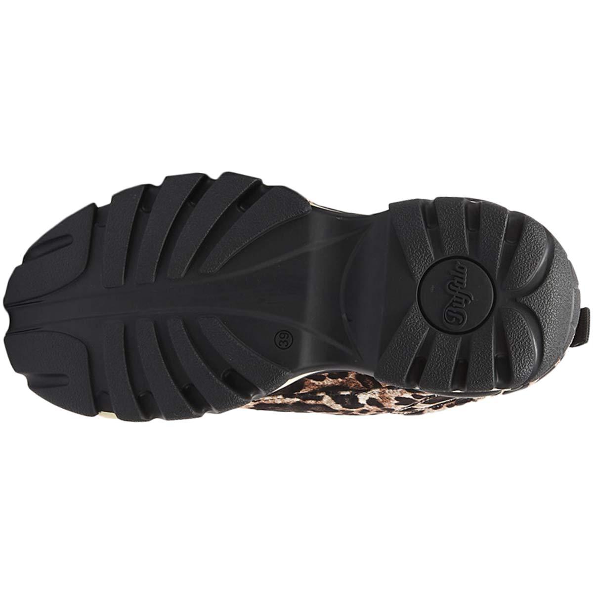 Buffalo London 1337 14 Damen Leopard Sneakers: