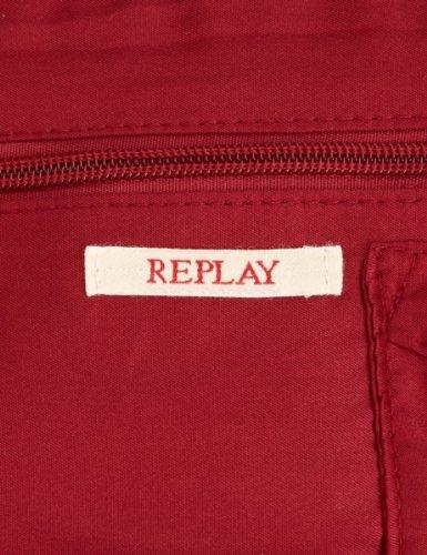 Replay FW3354, Damen Tote Bag Pflaume