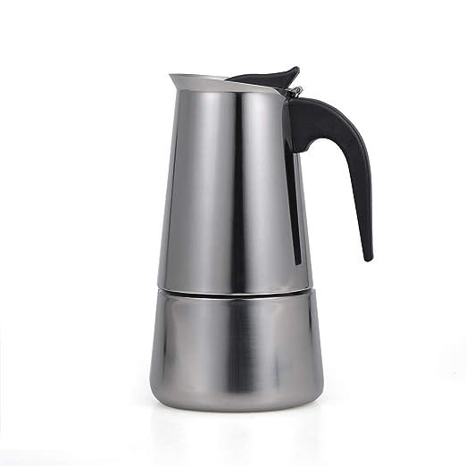 Decdeal 2 tazas de 100 ml de Acero Inoxidable Estufa de Café ...