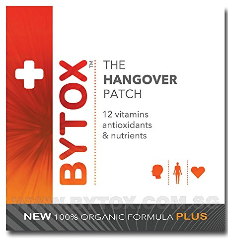 (Bytox The Hangover Patch with 12 Organic All Natural Vitamins, 5 Pack (5 Patches))
