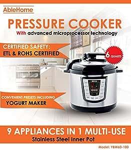 Amazon.com: AbleHome Olla a presión eléctrica 9 en 1 ...