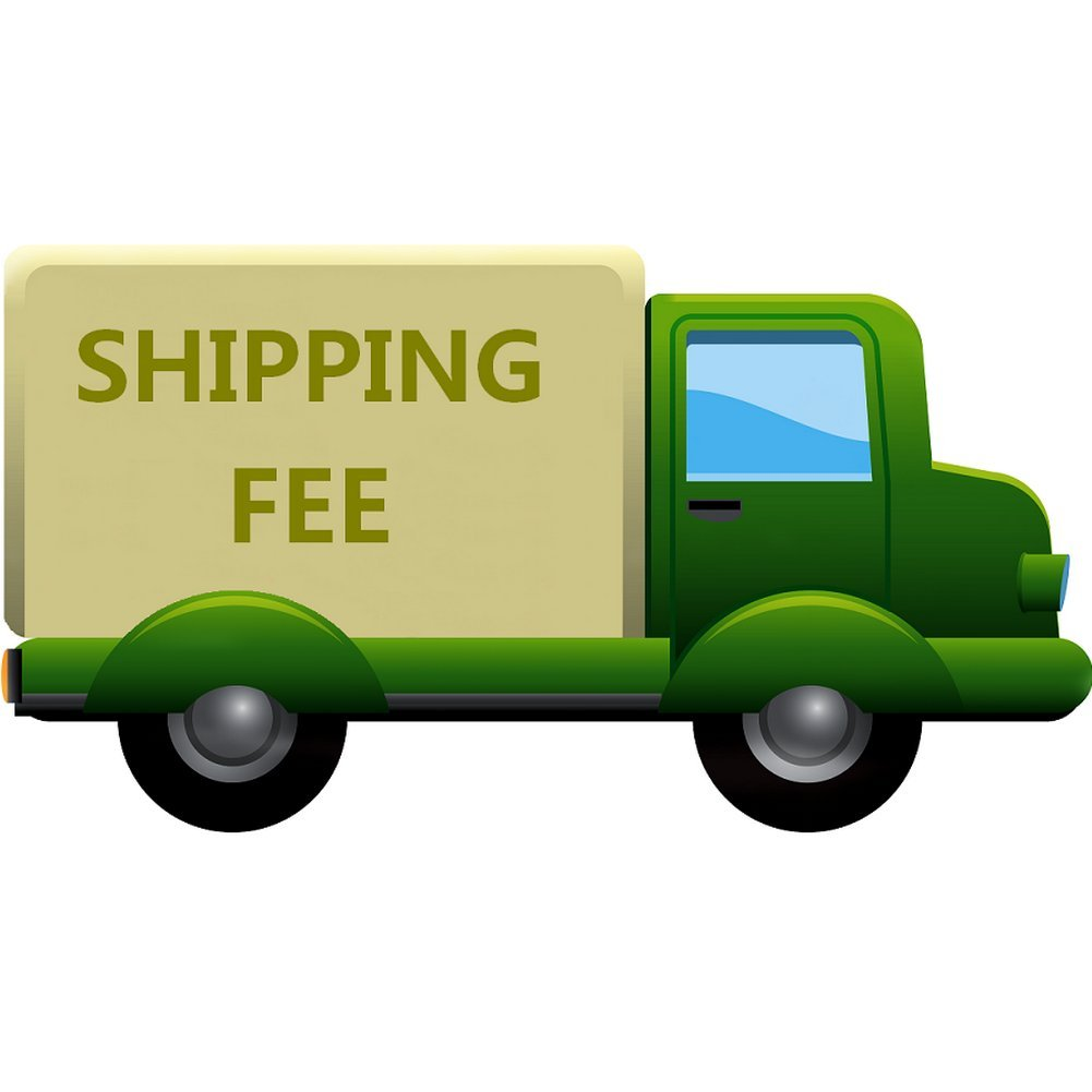AllhqFashion Shipping fee Black