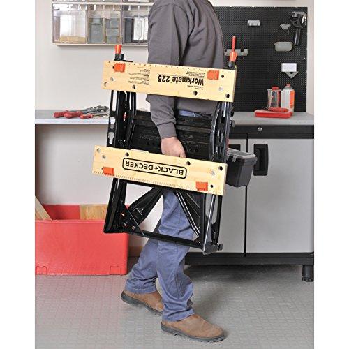 028873792259 - Black & Decker Workmate 225 450 lb. Capacity Portable Work Bench carousel main 2