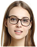 SunnyPro Aviator Eyeglasses Silver Clear Lens...