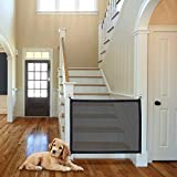NWK Magic Gate for Dogs, Portable Folding Safe Enclosure Easy Install Anywhere (Baby Safety Fence,Pet Safety Enclosure) -Width 41'' Height 31.5 '',Magic Gate As Seen On TV
