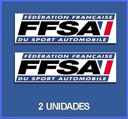 Pegatinas Stickers FFSA DP456 AUFKLEBER Decals AUTOCOLLANTS ADESIVI Car Decals Rally Rallies