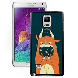 New Fashionable Designed For Samsung Galaxy Note 4 N910A N910T N910P N910V N910R4 Phone Case With Nom Nom Nom Phone Case Cover