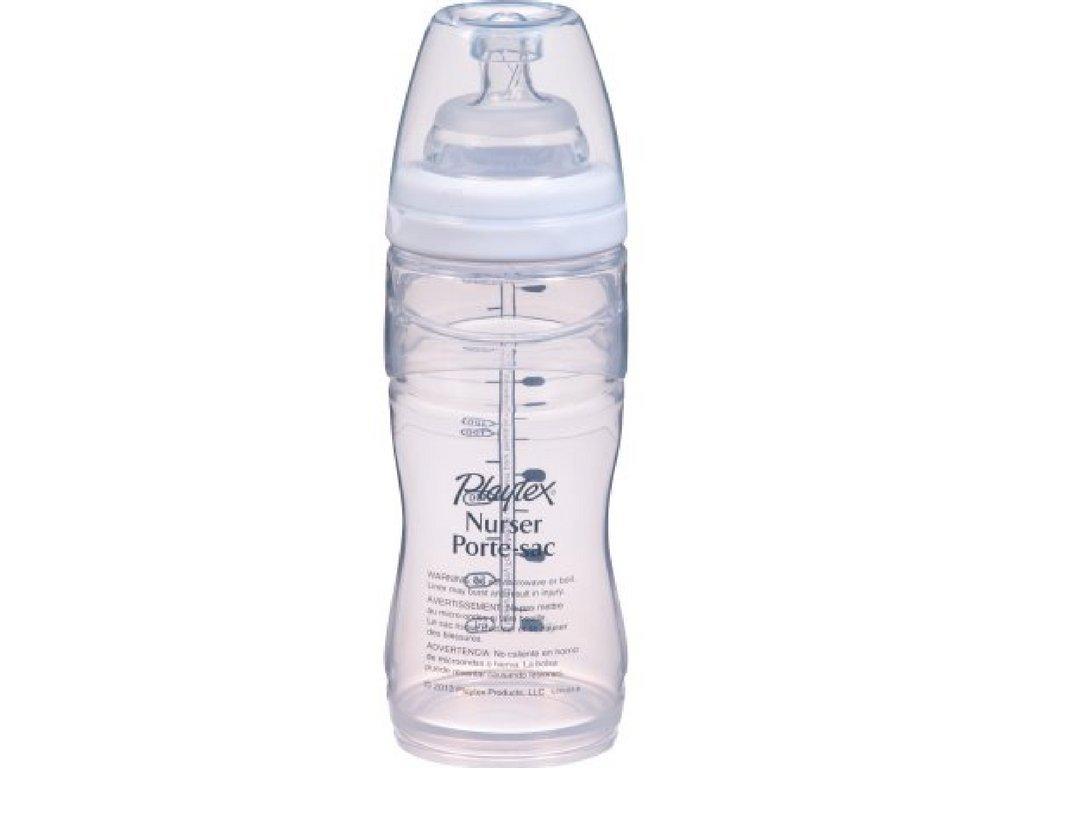 Playtex Nurser Drop-Ins Liners Premium 8-10 oz BPA-Free Bottle