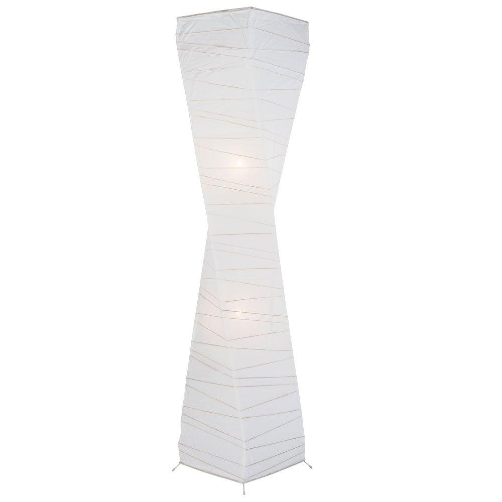 Nino Leuchten Lámpara 2 FLG – Lámpara Leuchten de pie de papel Limbo by Wohnorama 54c38d