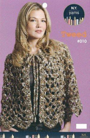 NY Yarns - Feather (4 knit patterns, NY Yarns #003)