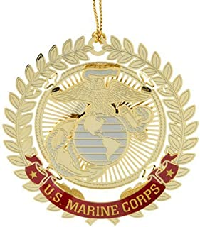 product image for ChemArt United States Marine Corps Logo Ornaments
