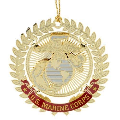 States Seal Marine United Corps (ChemArt United States Marine Corps Logo Ornaments)