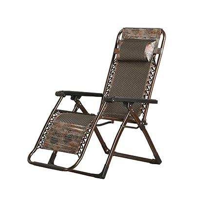 GXYGWJ Silla Plegable reclinable Creativa Hecha a Mano de ...