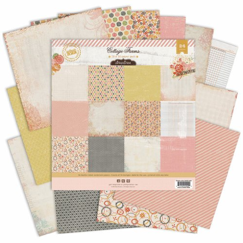 """Cottage Farms Double-Sided Paper Pack 12""""X12"""" 24/Sheets-12 Designs/2 Each"""