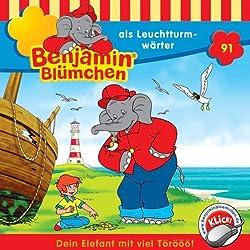 Benjamin als Leuchtturmwärter (Benjamin Blümchen 91)