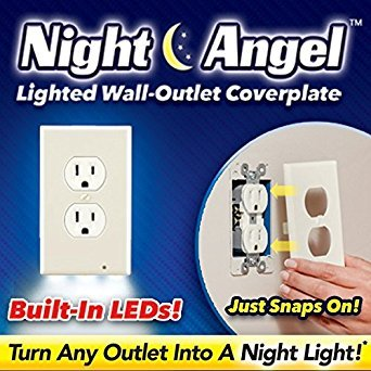 NIGHT ANGEL night light by SOLACE SNAPS RIGHT ON