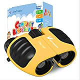 Compact Shock Proof Binoculars for Kids 8x21 with High-Resolution Real Optics, Best Gift