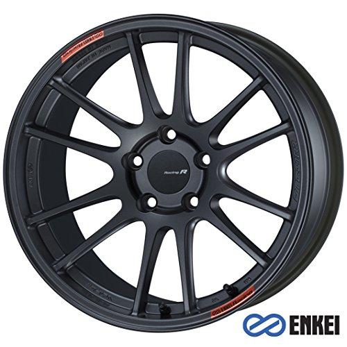 One Enkei Matte Gunmetal GTC01RR Racing Wheel/Rim - 18x11 - 5x114.3 - +16mm