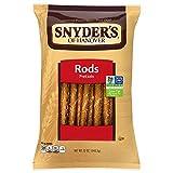 Snyder's of Hanover Pretzel Rods, 12 Ounce (Pack of 12)