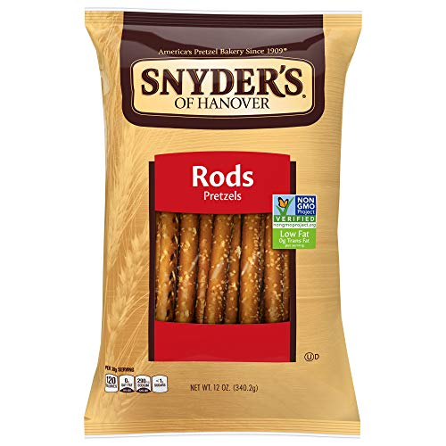 (Snyder's of Hanover Pretzel Rods, 12 Ounce (Pack of 12))