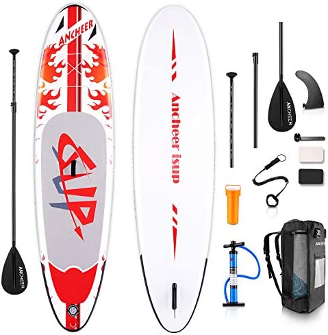 YUEBO Inflatable Stand Up Paddle Board