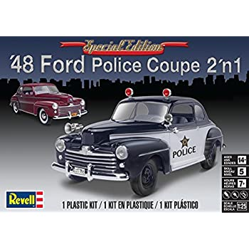 Amazon com: Revell 1:25 '48 Ford Custom Coupe 3-in-1: Toys