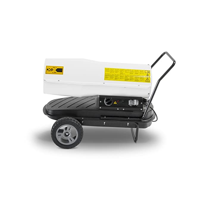 TROTEC Calefactor de gasoil directo IDE 30 D potencia máxima 30 kW (25.800 kcal): Amazon.es: Bricolaje y herramientas