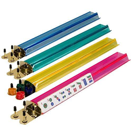 最上の品質な 4 18'' Jongg Clear Colored Mah Jong Racks With Holders Money Holders - Multi-Color Acrylic Mahjong Mah Jongg Racks 18'' B00A8PTD8W, TAKEMOTO PARTS:79ad1c47 --- arianechie.dominiotemporario.com