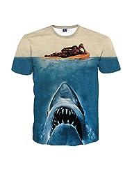 CSQC154 deadpool shark T-shirt Tee Top Men Fashion Casual