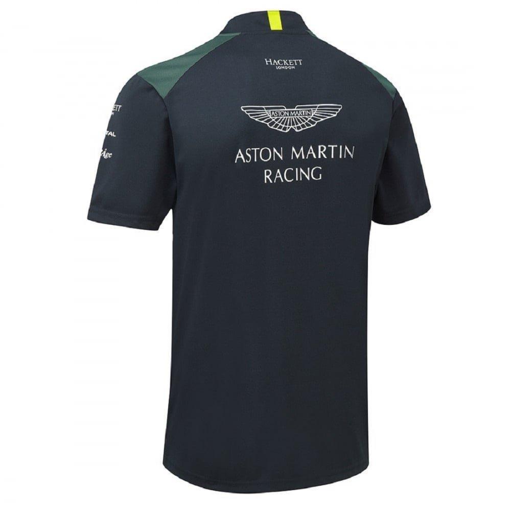 Polo para Hombre Color Azul Marino Aston Martin Racing Team