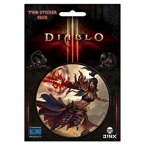 JINX Diablo III Wizard Class Sticker, Multi-Colored, 3