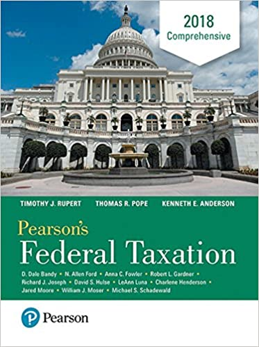 Pearsons federal taxation 2018 comprehensive 31st edition thomas pearsons federal taxation 2018 comprehensive 31st edition 31st edition fandeluxe Images